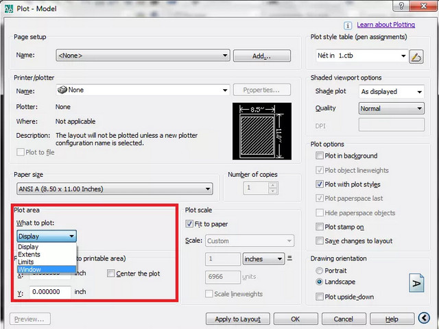 in autocad9